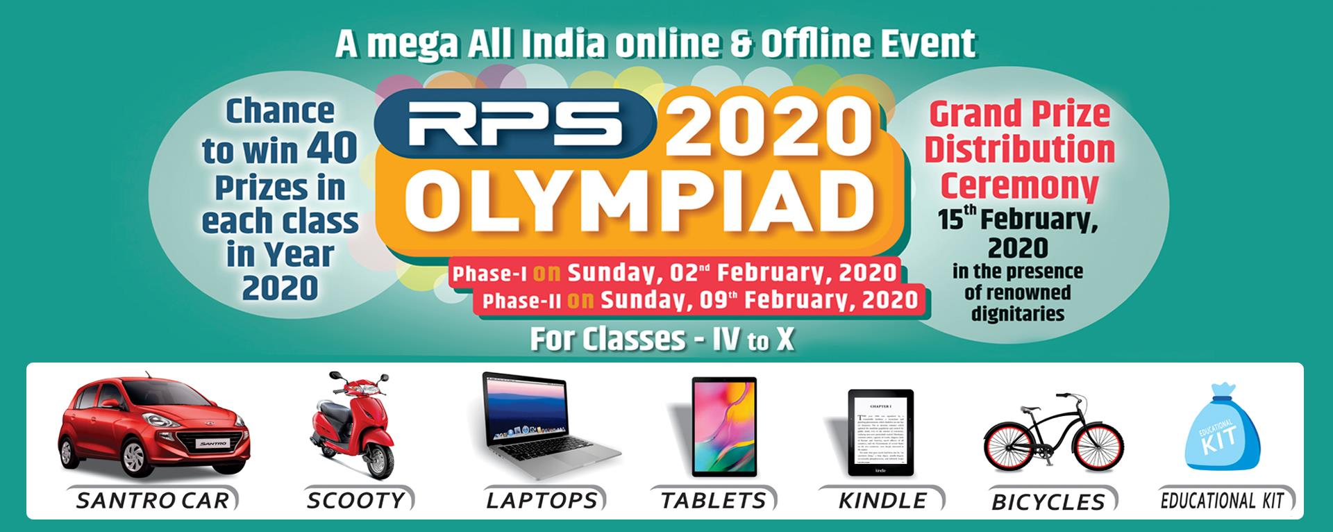 RPS Narnaul Olympiad going to held in RPSGOI