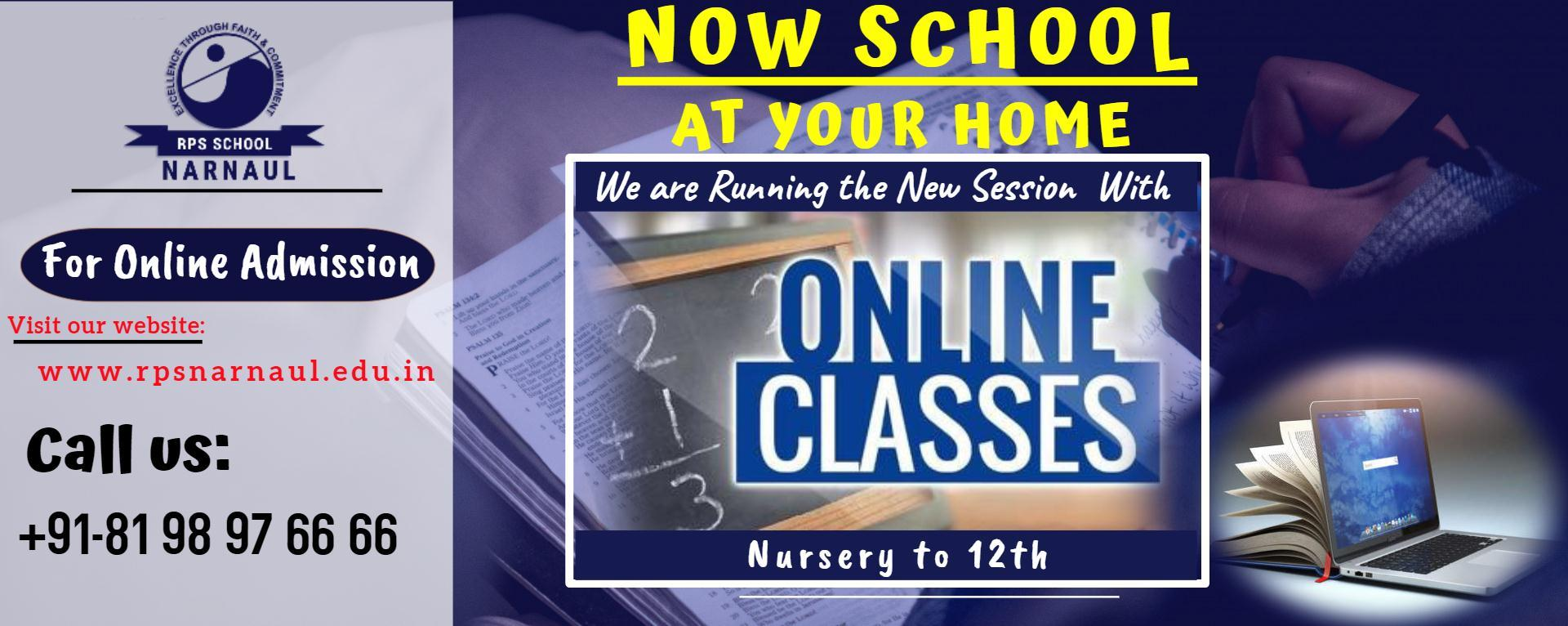 Online Classes Home Page