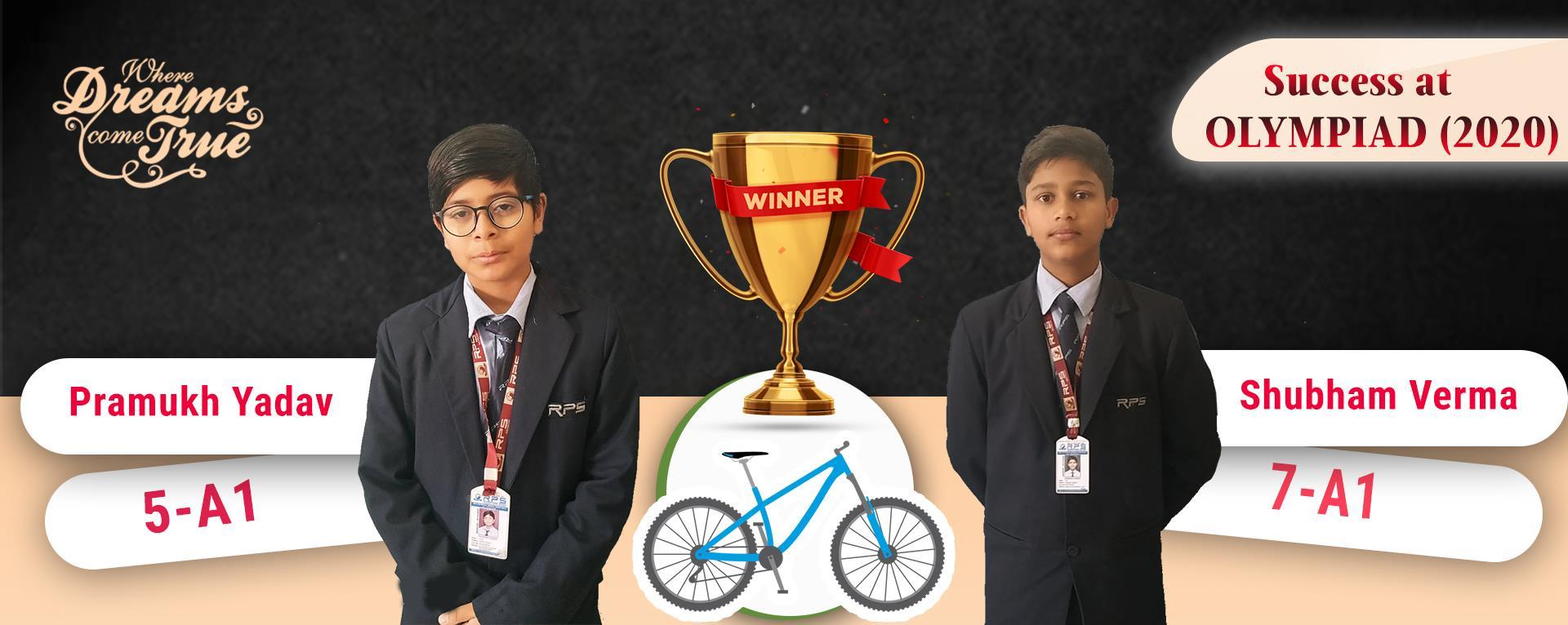WINER OF OLYMPIAD